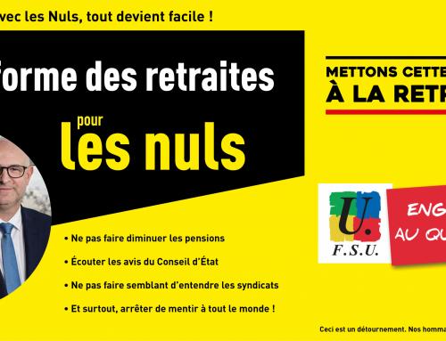 Faisons les battre en retraite : les mobilisations dans l'Oise pour la semaine du 17 au 22 février !